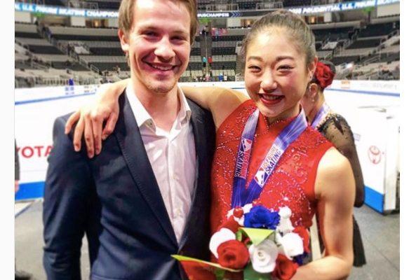 Mirai Nagasu's boyfriend Darian Weiss