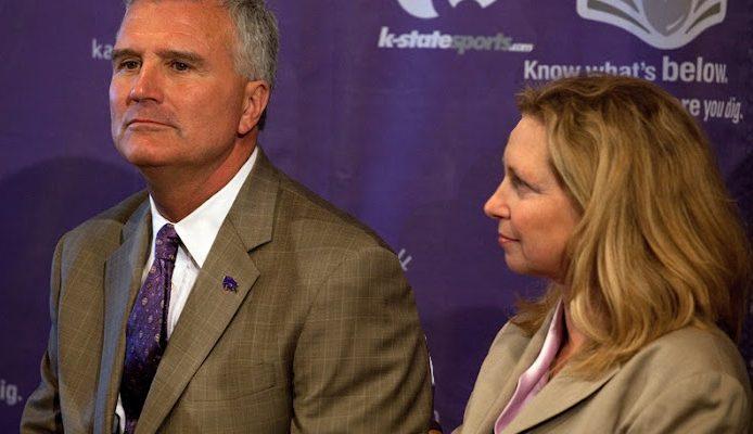 Kansas State Bruce Weber's Wife Megan Weber