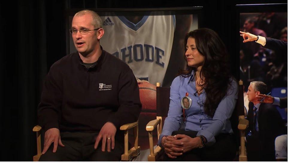 Rhode Island Rams Dan Hurley S Wife Andrea Hurley