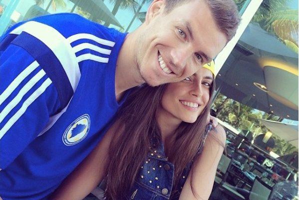 Edin Dzeko's Wife Amra Silajdzic Dzeko