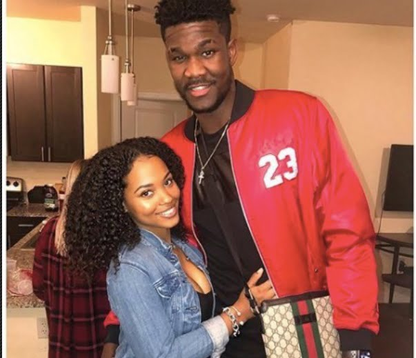Deandre Ayton's Girlfriend Anissa Evans