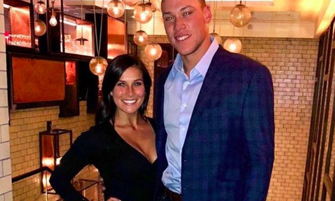 "Aaron Judge's New Girlfriend Brittany ""Britt"" Hodges"