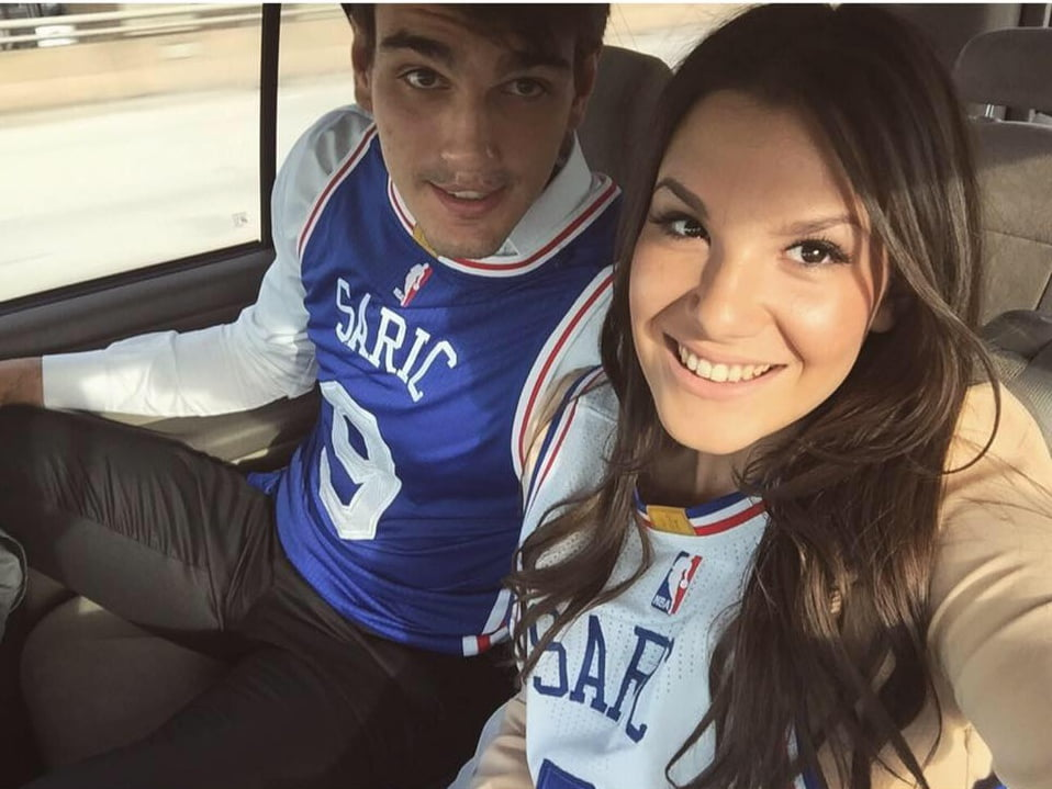 Dario Saric's Girlfriend Karla Puseljic