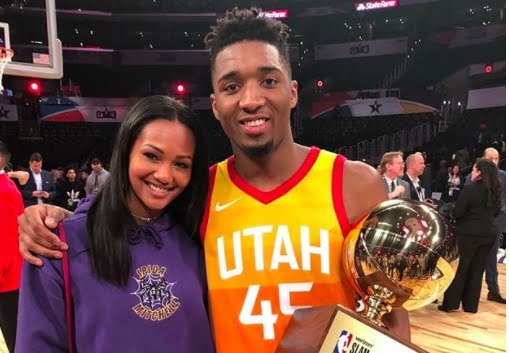 Donovan Mitchell's Girlfriend Deja Lighty