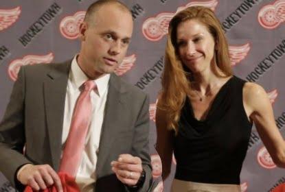 Jeff Blashill's wife Erica Blashill
