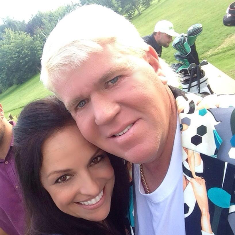 John Daly's Girlfriend Anna Cladakis