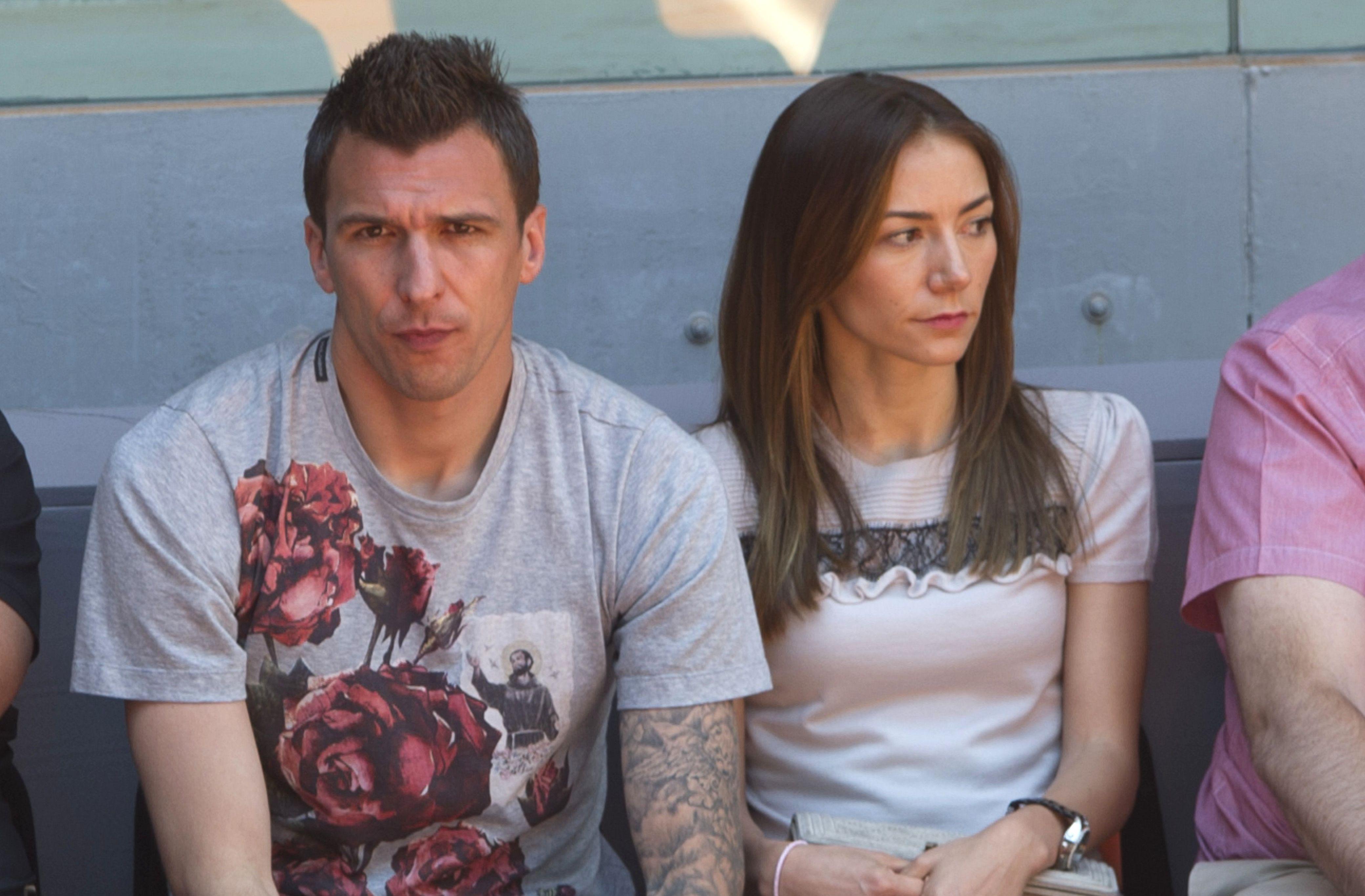 Mario Mandzukic's Girlfriend Ivana Mikulic
