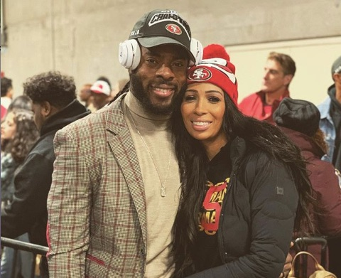 Richard Sherman wife Ashley Sherman
