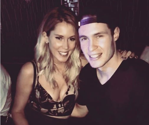 Brayden McNabb's Pretty Girlfriend Lelanie