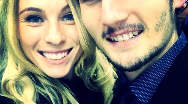 Connor Hellebuyck's Girlfriend Andrea Fanciullo