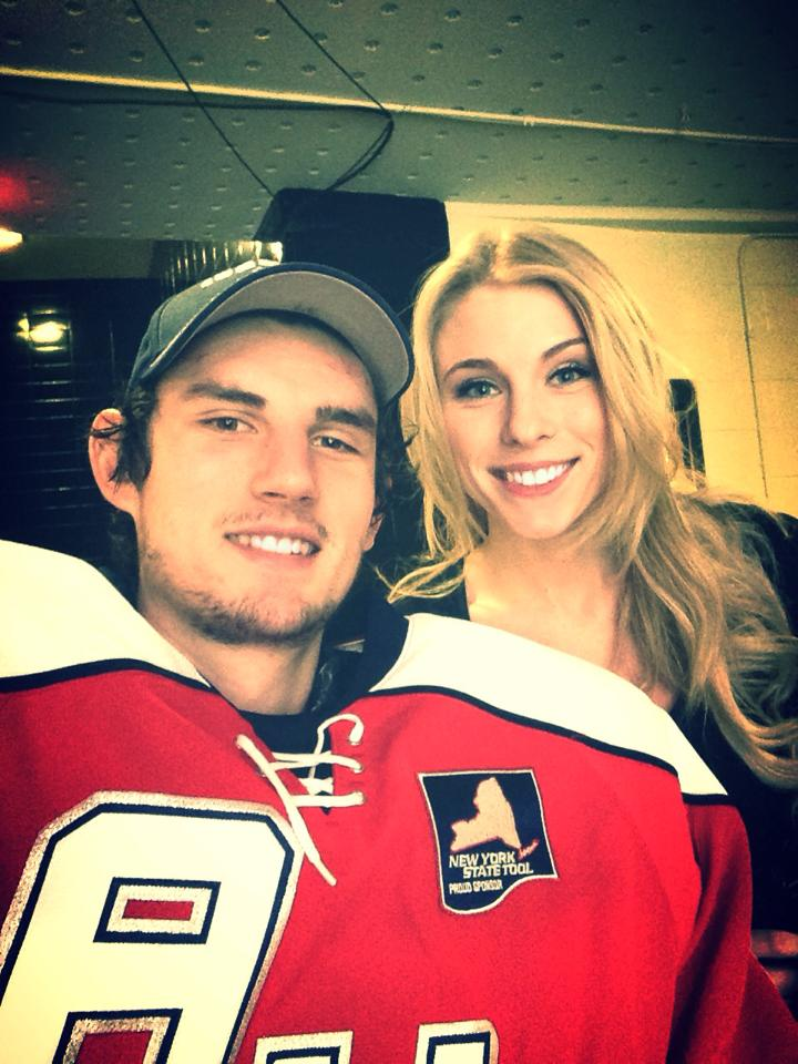 University Of Massachusetts Lowell >> Connor Hellebuyck's Girlfriend Andrea Fanciullo (Bio, Wiki)