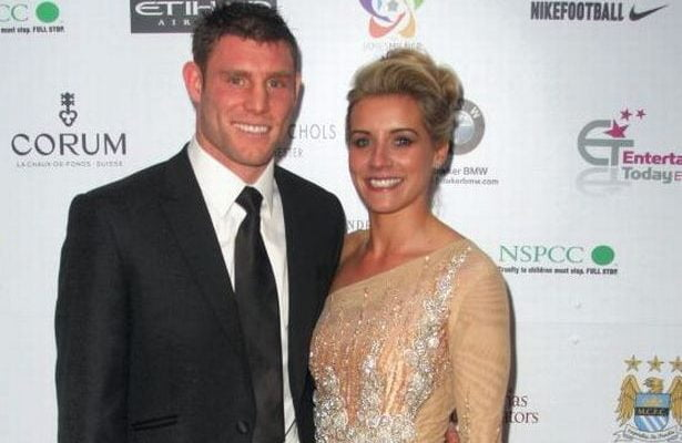 James Milner's Wife Amy Fletcher