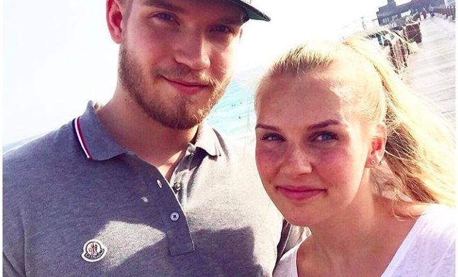 Joel Armia's Girlfriend Emilia Harjunen