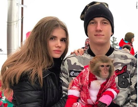 Aleksandr Golovin's girlfriend Angelina Vaschenko