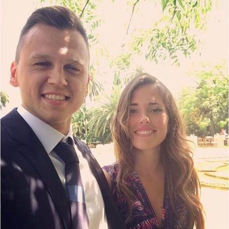 Denis Cheryshev's Girlfriend Cristina Cobo