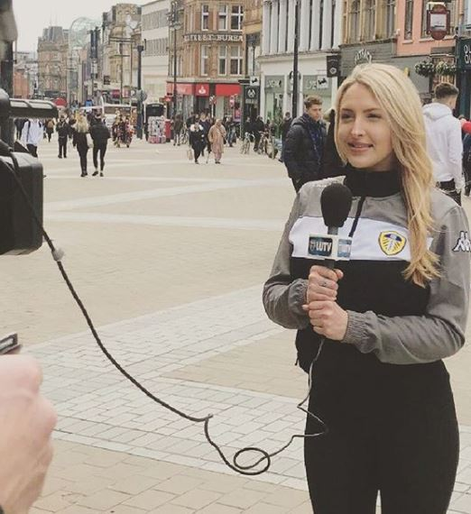 Emma Louise Jones Sexy Leeds United TV Presenter (Bio, Wiki)