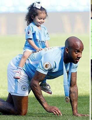 Picture of Fabian Delph Daughter, called Sofia