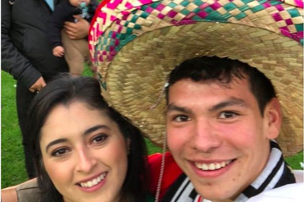 Hirving Lozano's Wife Ana Obregon