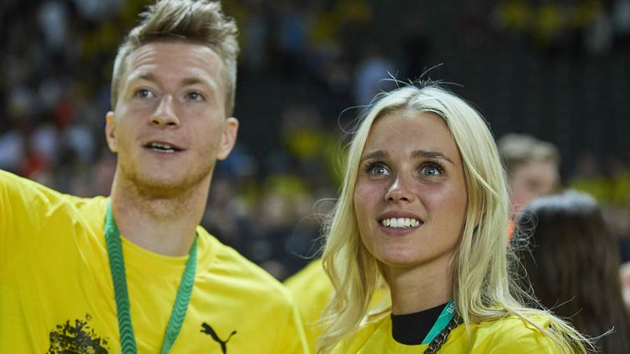 Meet Marco Reus' stunning girlfriend Scarlett Gartmann