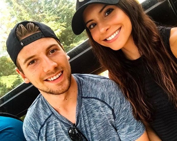 Shea Theodore's Girlfriend Mariana Alston