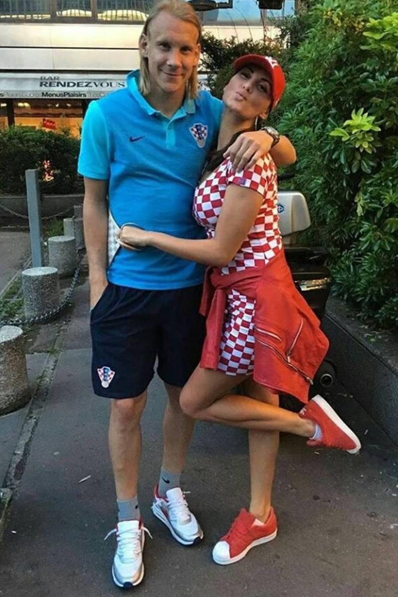 Domagoj Vidas Wife Ivana Gugić Bio Wiki