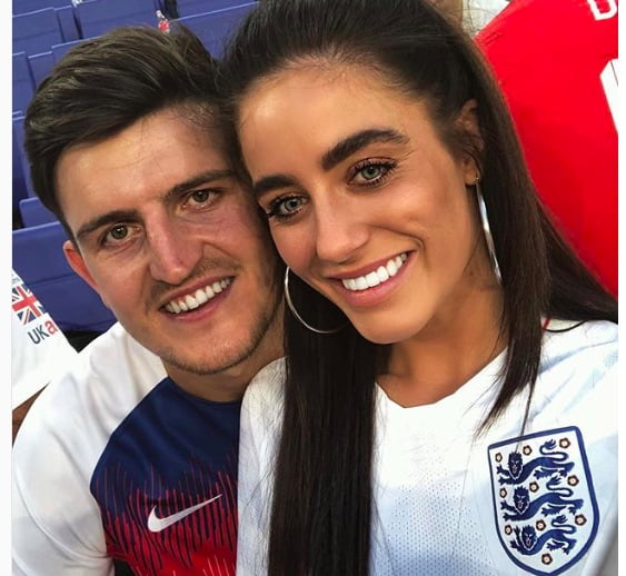 Harry Maguire's girlfriend Fern Hawkins