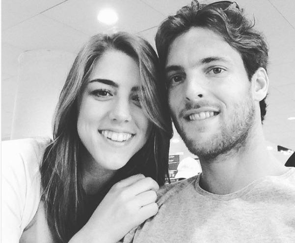 Joao Sousa's Girlfriend Julia Llort