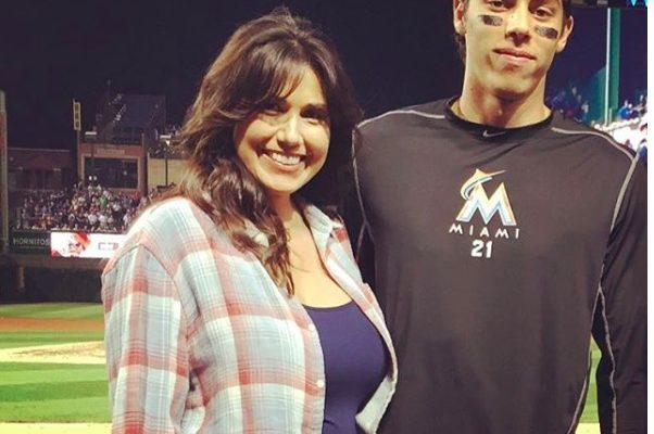 Christian Yelich's mother Alecia Yelich