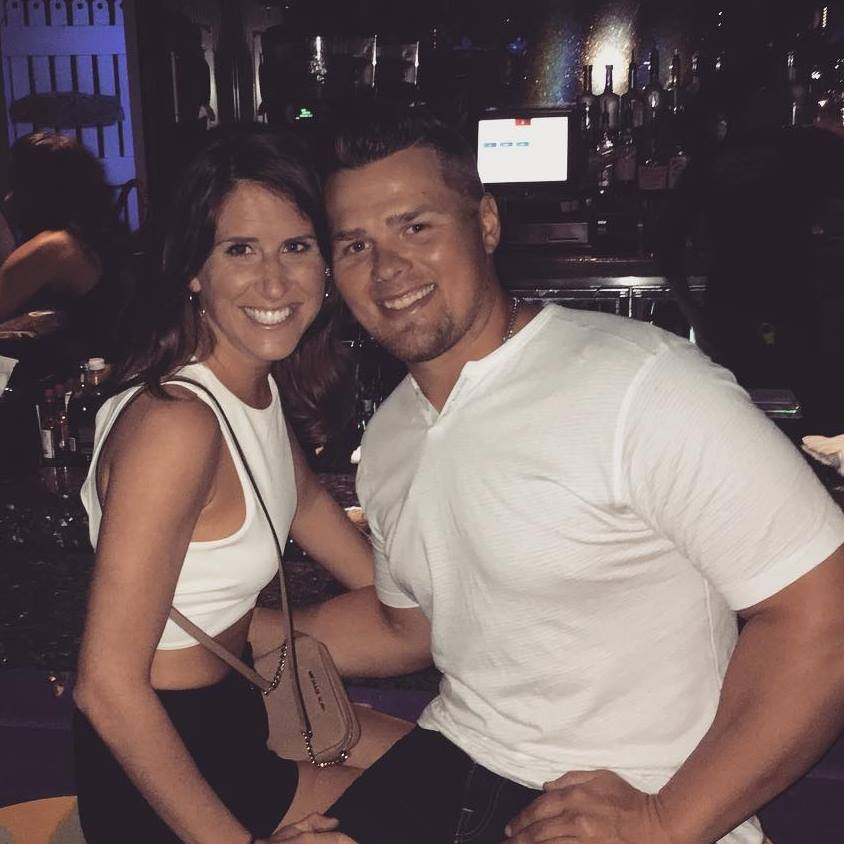 Aaron Judges girlfriend Samantha Bracksieck goes