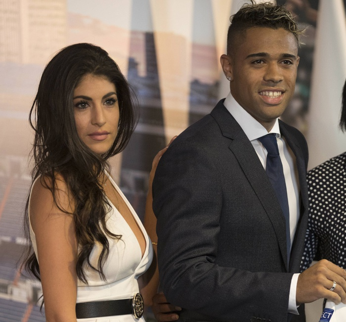 Mariano Diaz Mejia's Girlfriend Yaiza Moreno