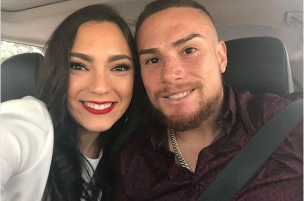 Christian Vazquez' Girlfriend Gabriela Otero