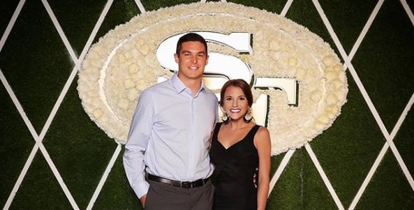 Nick Mullens' Wife Haleigh Mullens
