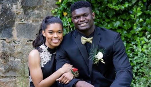 Zion Williamson's Girlfriend Tiana White