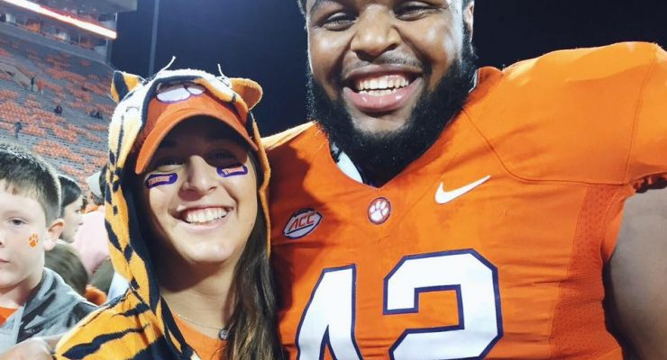 Christian Wilkins' Girlfriend Livvie Caligiuri