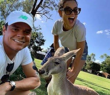 Meet Milos Raonic's New Girlfriend  Camille Ringoir