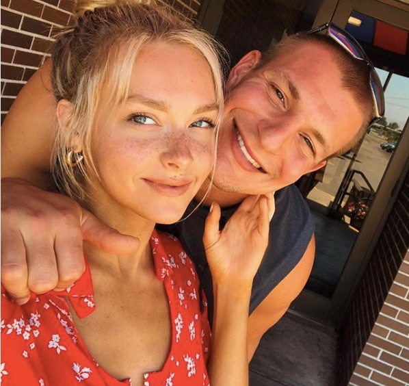 A Rundown Of Rob Gronkowski S Romance With Sports: Camille Kostek Gronk Video
