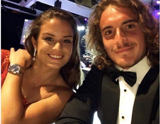 Stefanos Tsitsipas' Girlfriend Maria Sakkari?
