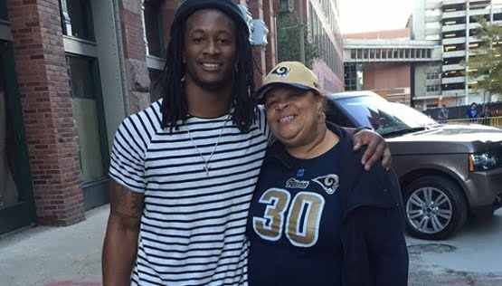 Todd Gurley's Mother Darlene Simmons
