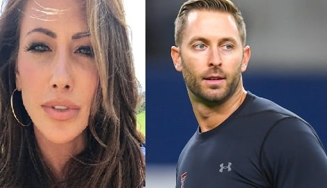 Holly Sonders Kliff Kingsbury's Girlfriend