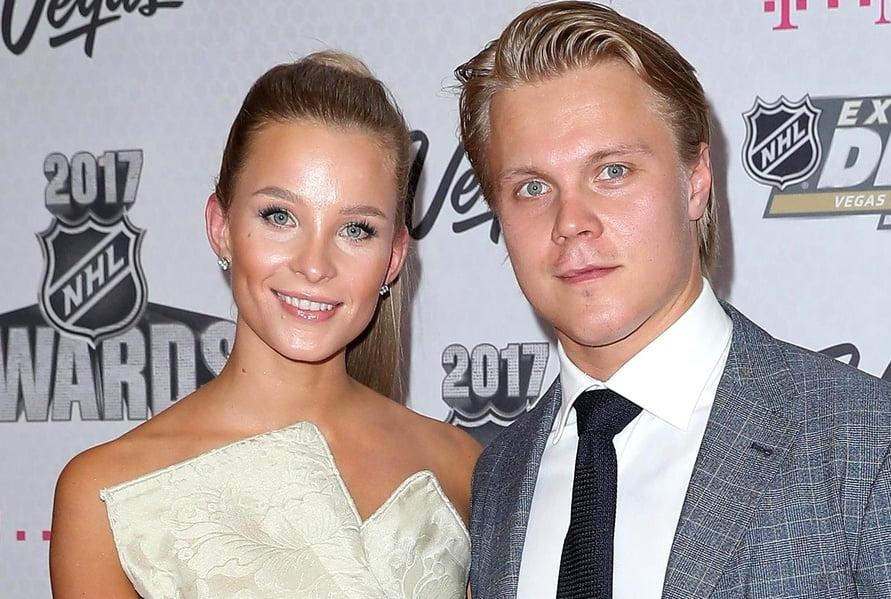 Mikael Granlund's girlfriend Emmi Kainulainen