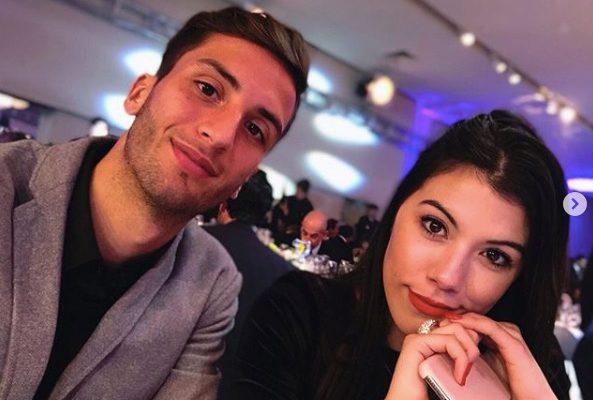 Rodrigo Bentancur's Girlfriend Melany La Banca