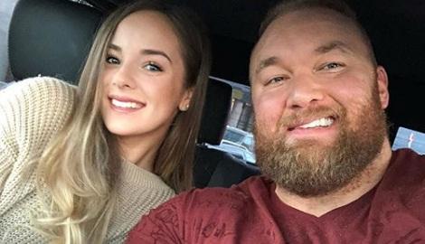 Hafþór Júlíus Björnsson's Wife Kelsey Henson
