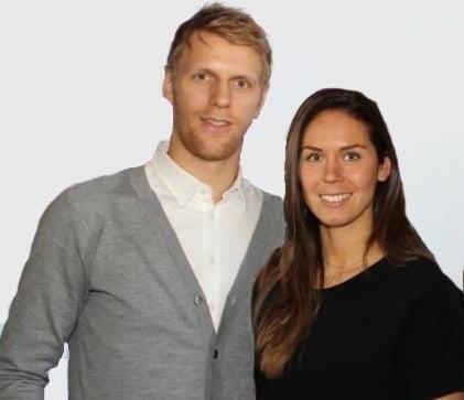 Carl Gunnarsson's Wife Josefin Gollner