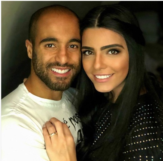 Lucas Moura's Wife Larissa Saad