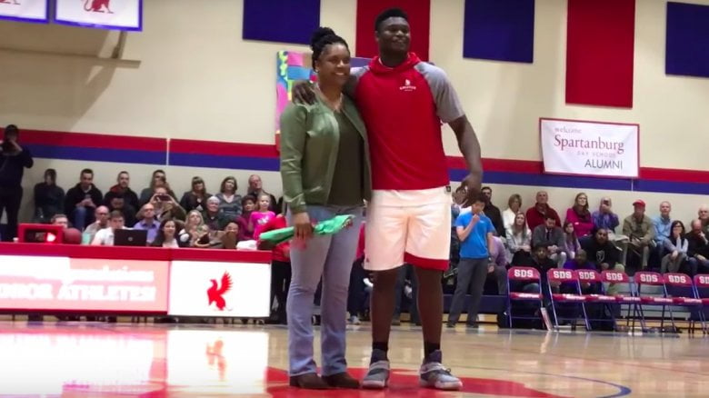 Zion Williamson's Mother Sharonda Sampson (Bio, Wiki)