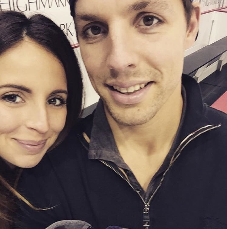 David Perron's  Girlfriend Vanessa Vandal