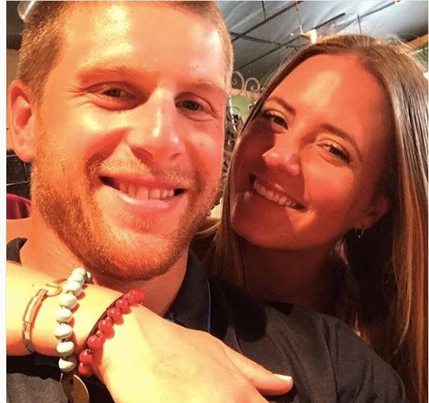 Steven Kampfer's wife Tara Kampfer