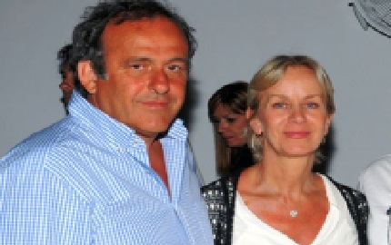Michel Platini's Wife Christelle Platini