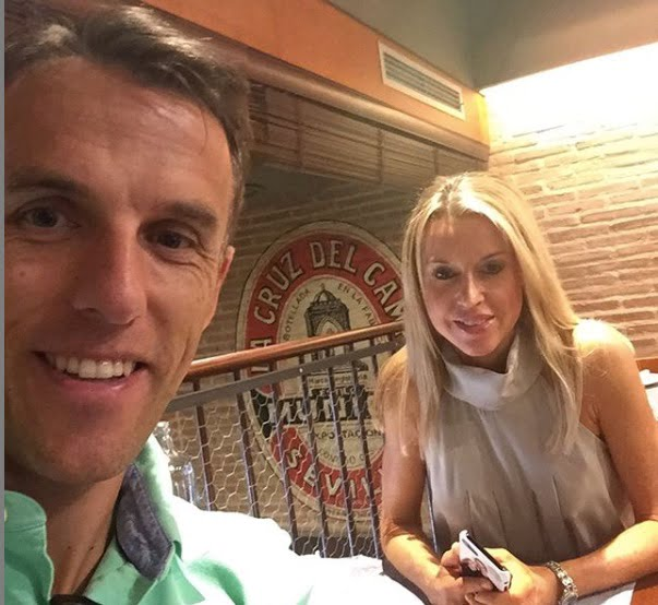 Julie Neville 5 Facts About Phil Neville's Wife