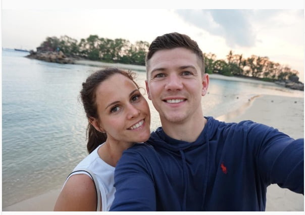 Luke Campbell's Wife Lynsey Kraanen